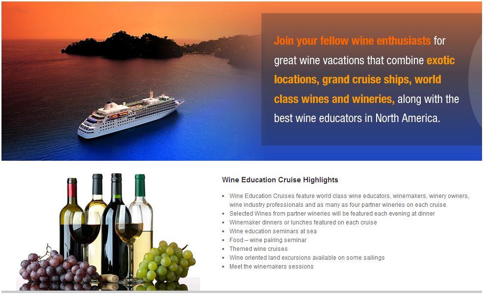 Wine Cruises